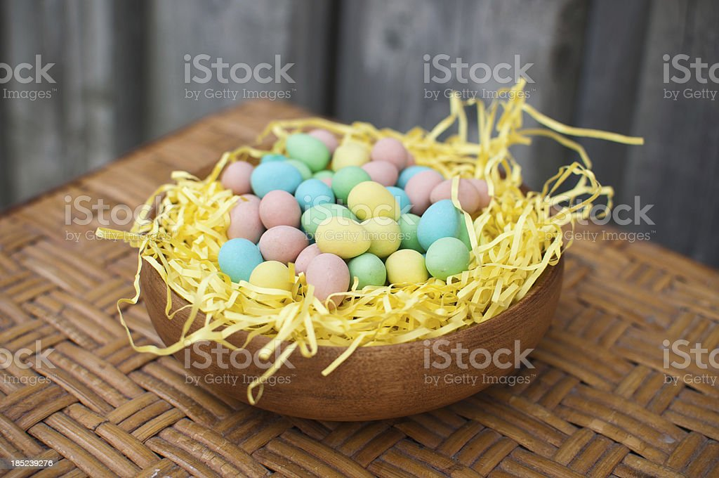 Easter Egg Candies royalty-free stock photo