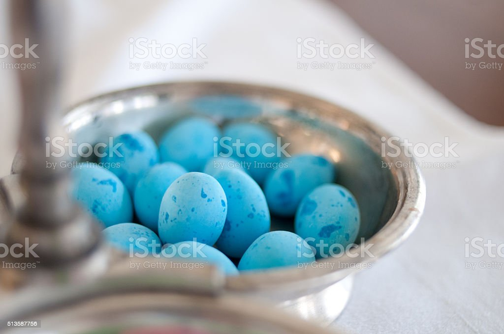 Easter Egg candies stock photo
