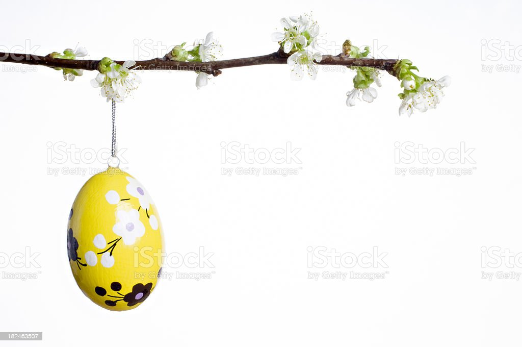 Easter Egg Decorations royalty-free stock photo