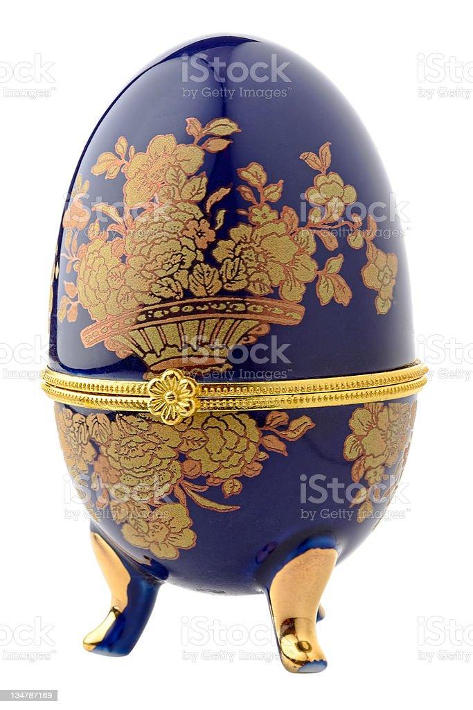Easter egg for jewellery stock photo