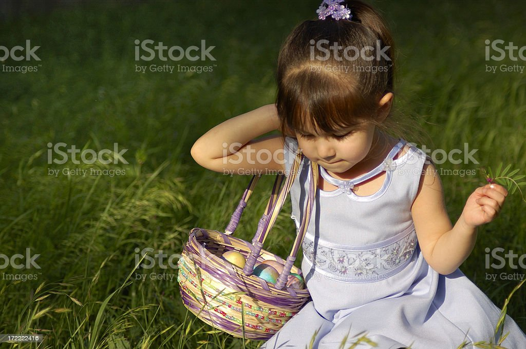 Easter Egg Hunt 1 royalty-free stock photo