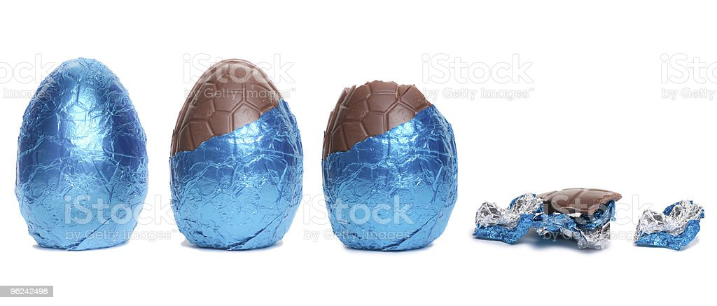 Easter Egg Lifecycle stock photo