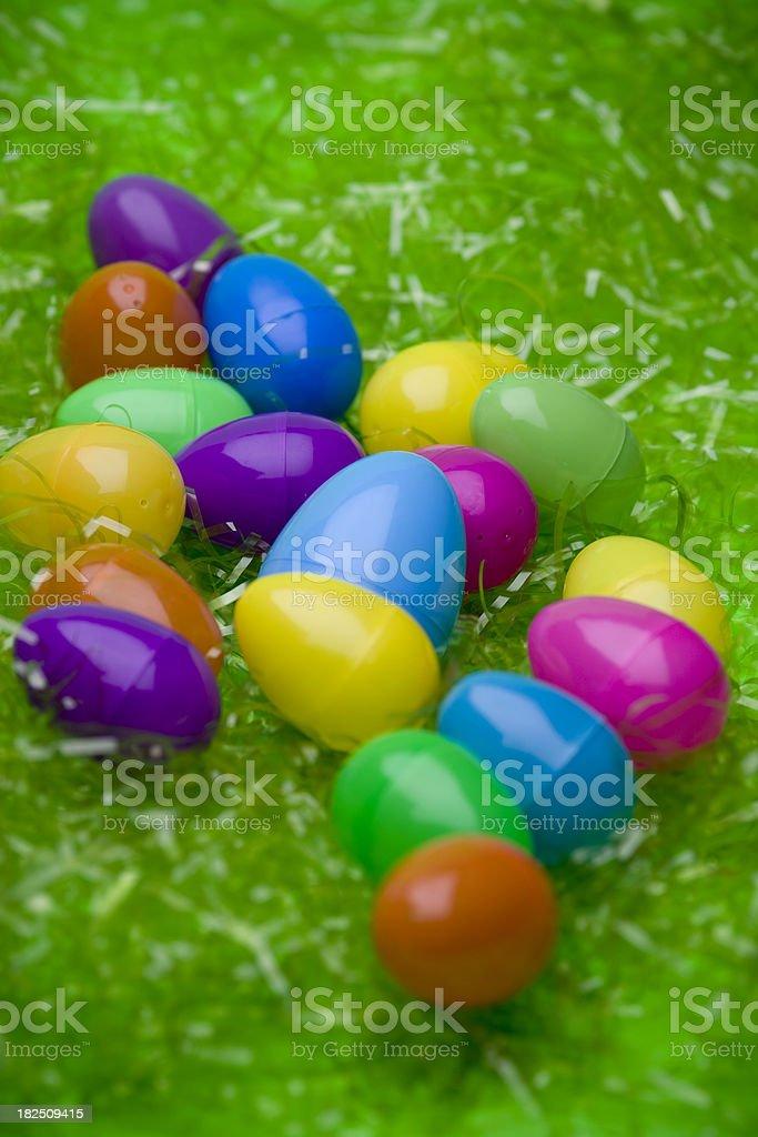 easter egg spread stock photo