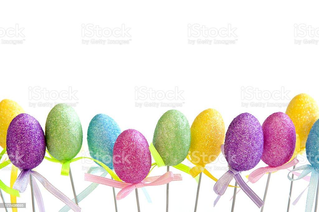 Easter egg toys royalty-free stock photo