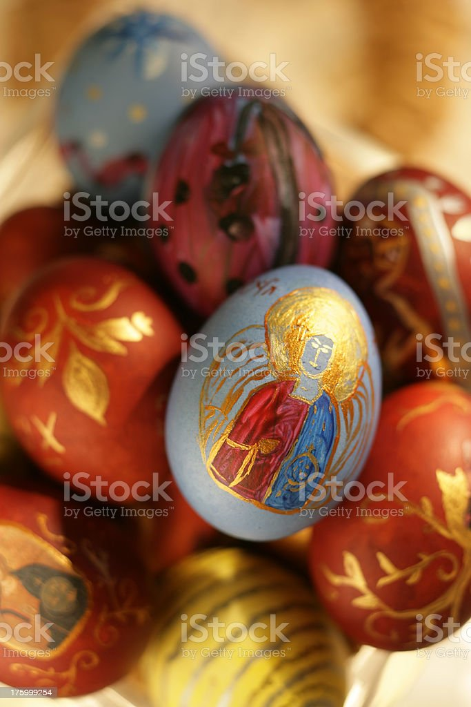 Easter Eggs 13 royalty-free stock photo