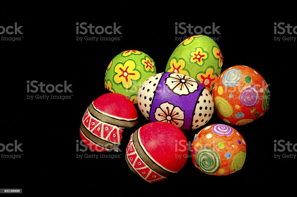 Easter Eggs 2 royalty-free stock photo