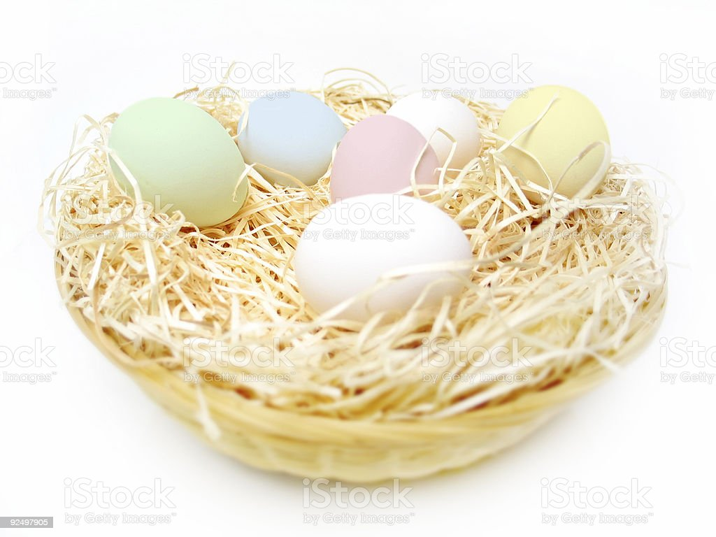 Easter Eggs 3 royalty-free stock photo