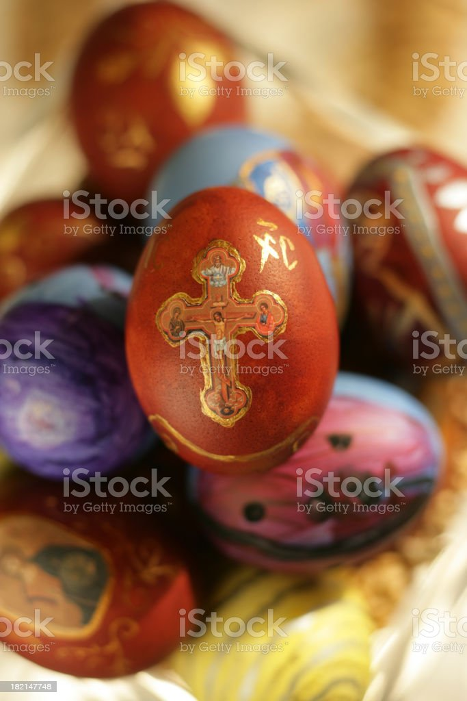 Easter Eggs 55 stock photo