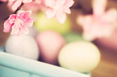 Easter Eggs and Cherry Blossom