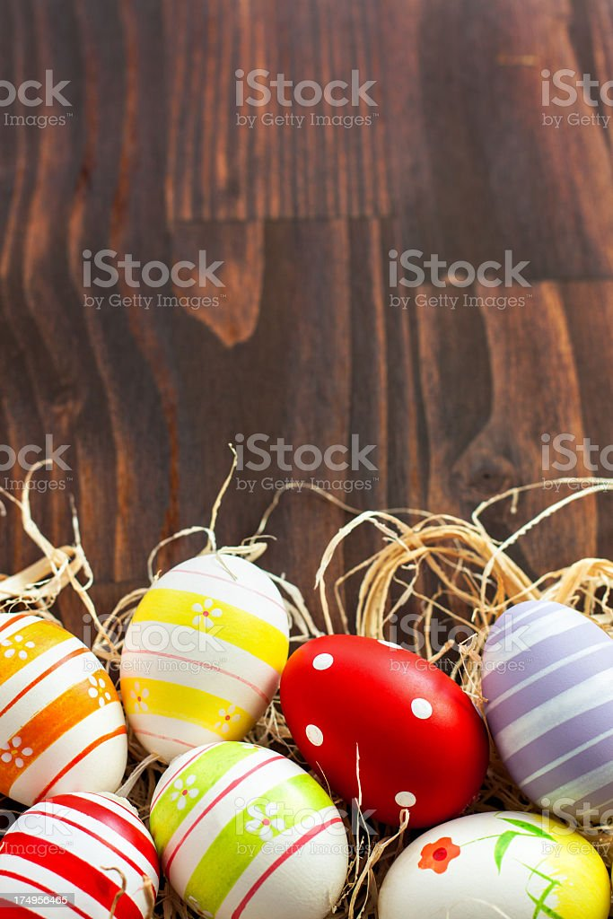 Easter Eggs Decoration royalty-free stock photo
