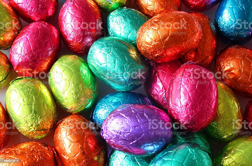 Easter Eggs Galore royalty-free stock photo
