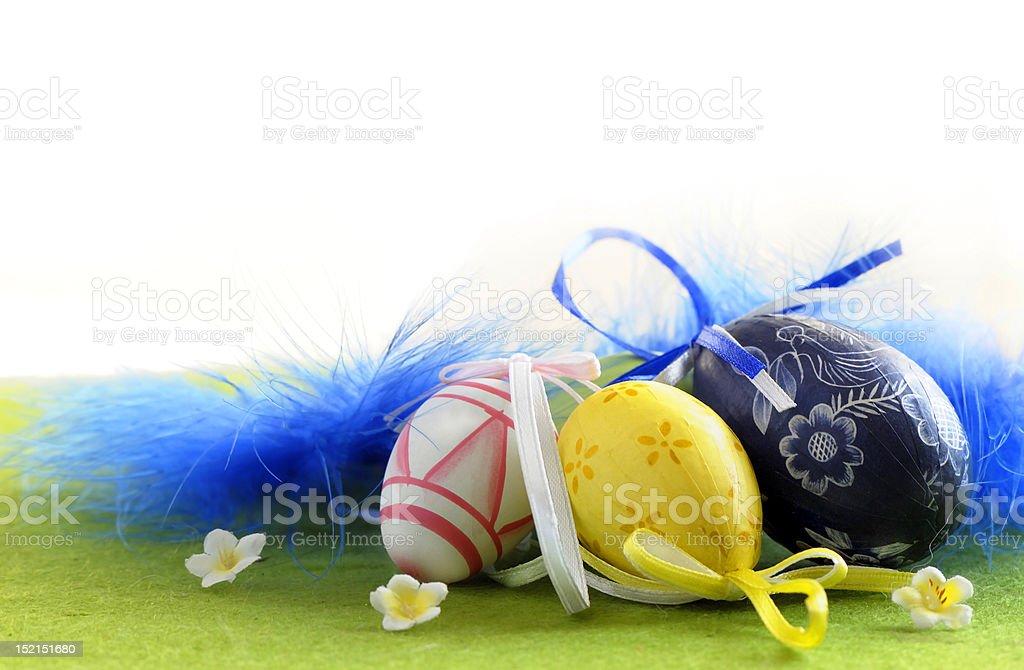 Wielkanoc jajka zbiór zdjęć royalty-free