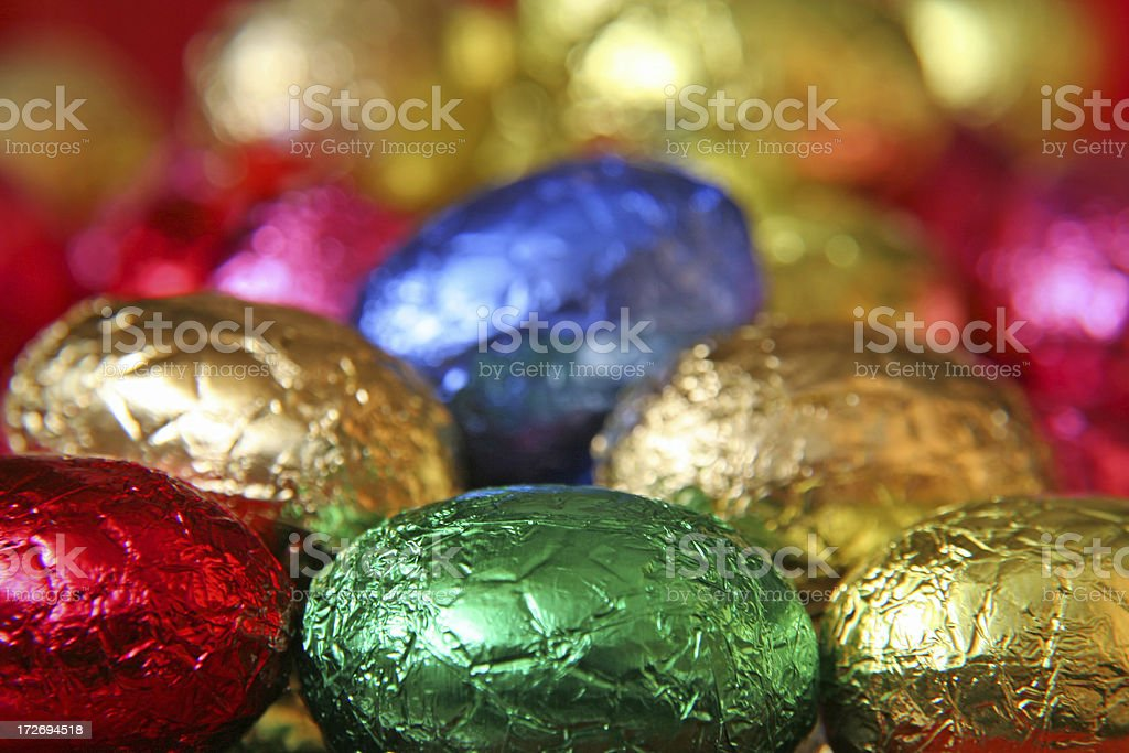 Easter eggs # 17 royalty-free stock photo