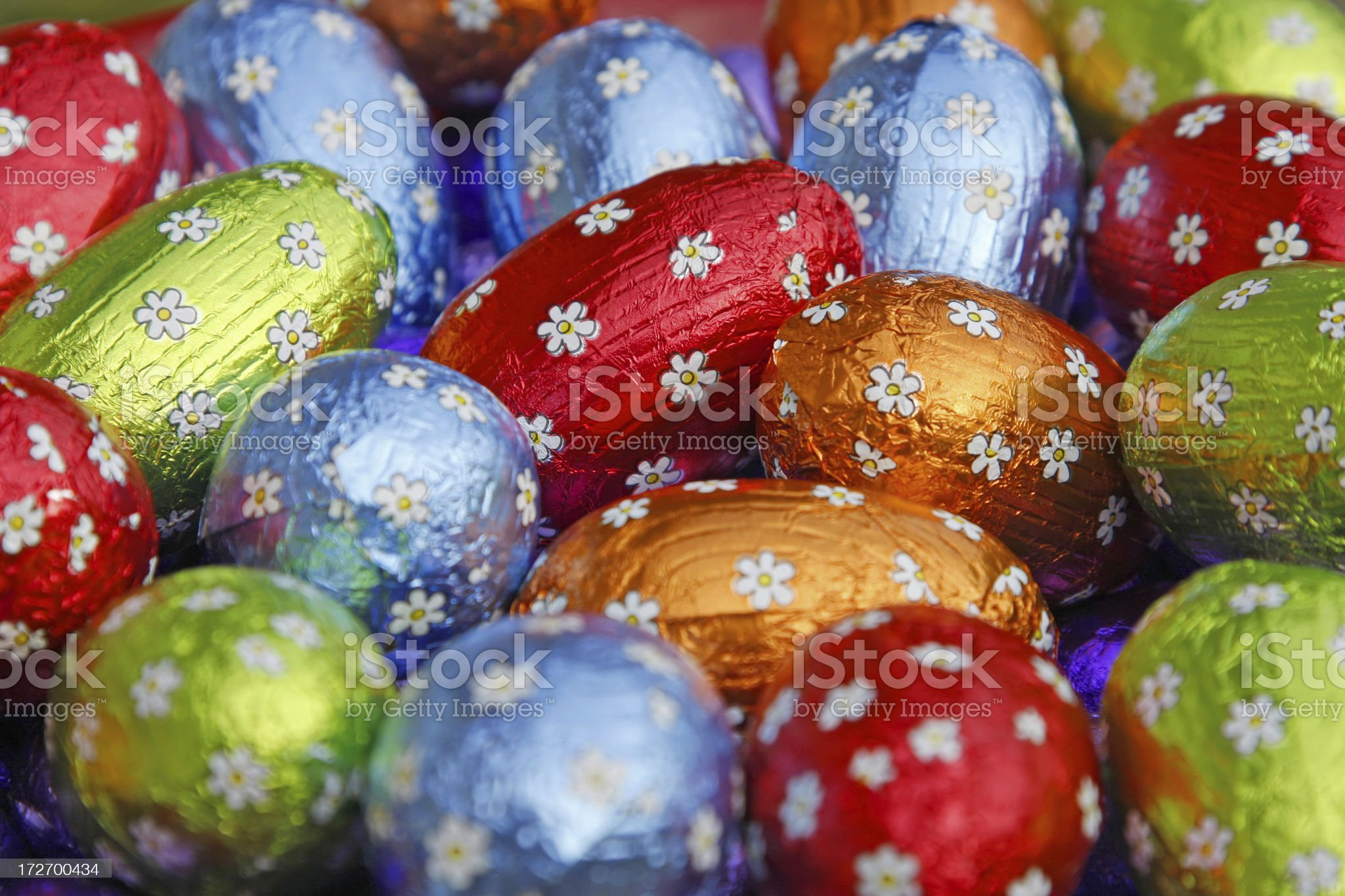Easter eggs # 18 royalty-free stock photo