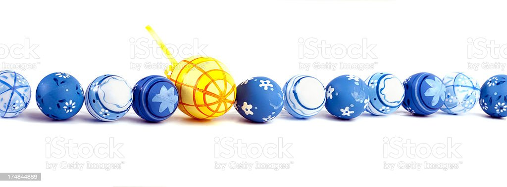 Easter eggs. stock photo