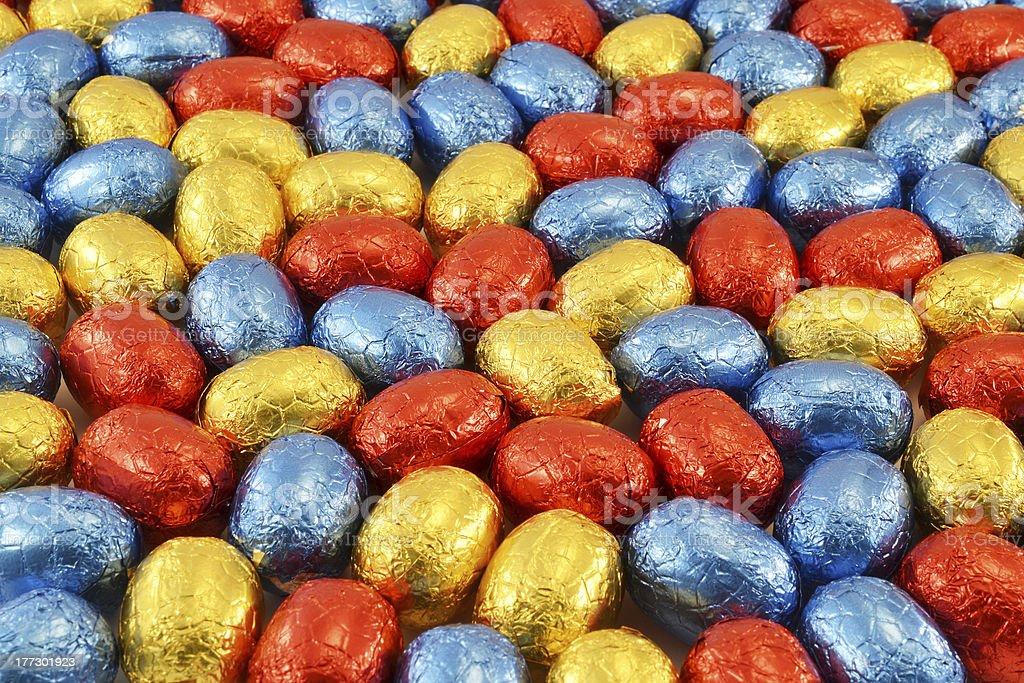 Huevos de Pascua. foto de stock libre de derechos
