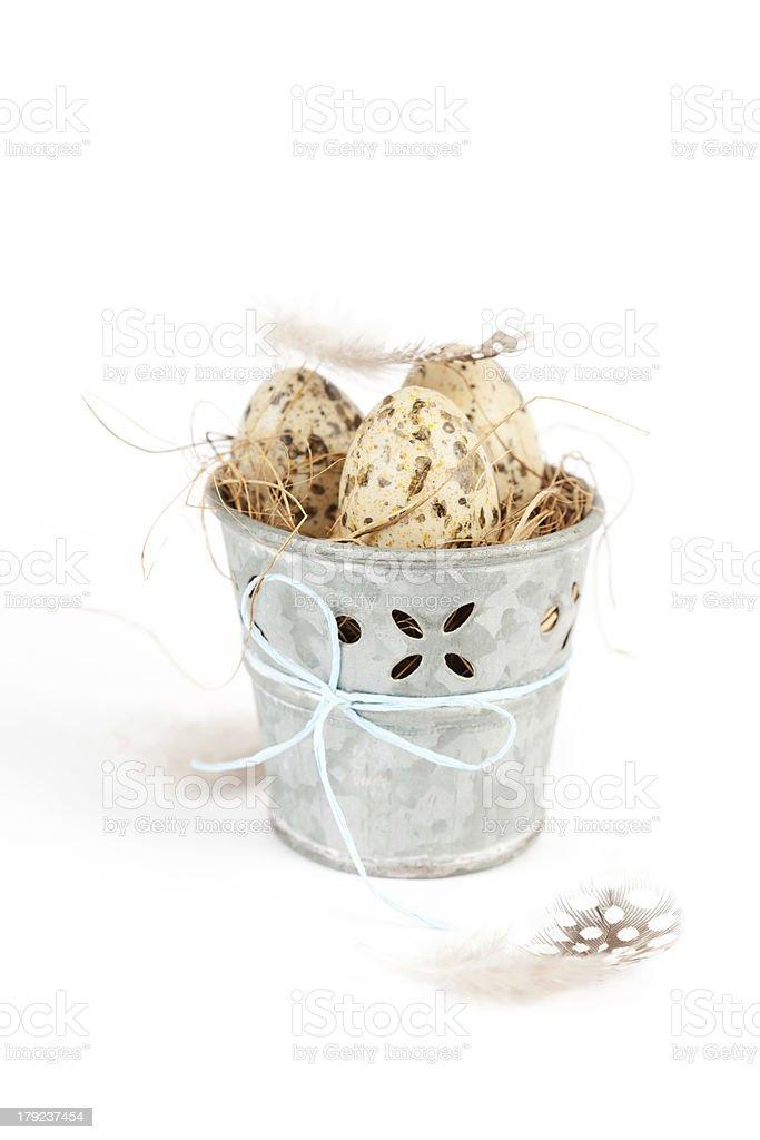 Ovos de Páscoa foto royalty-free