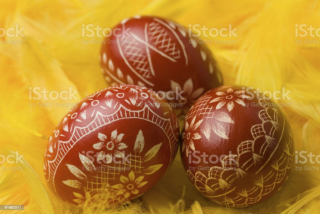 Easter eggs. royalty-free stock photo