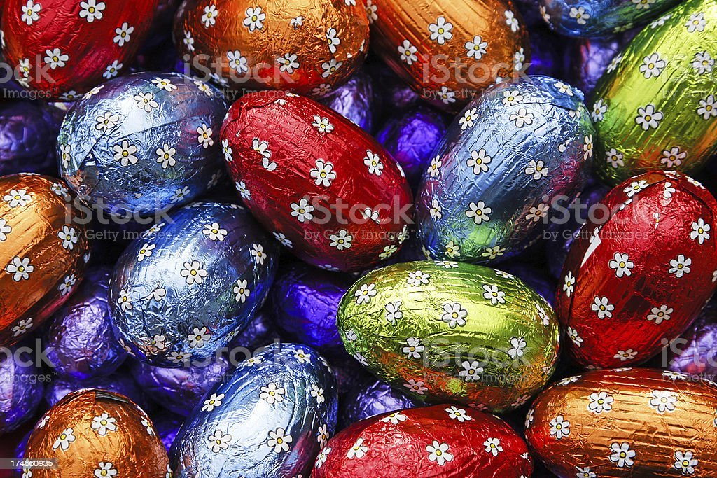Easter eggs # 21 XL royalty-free stock photo