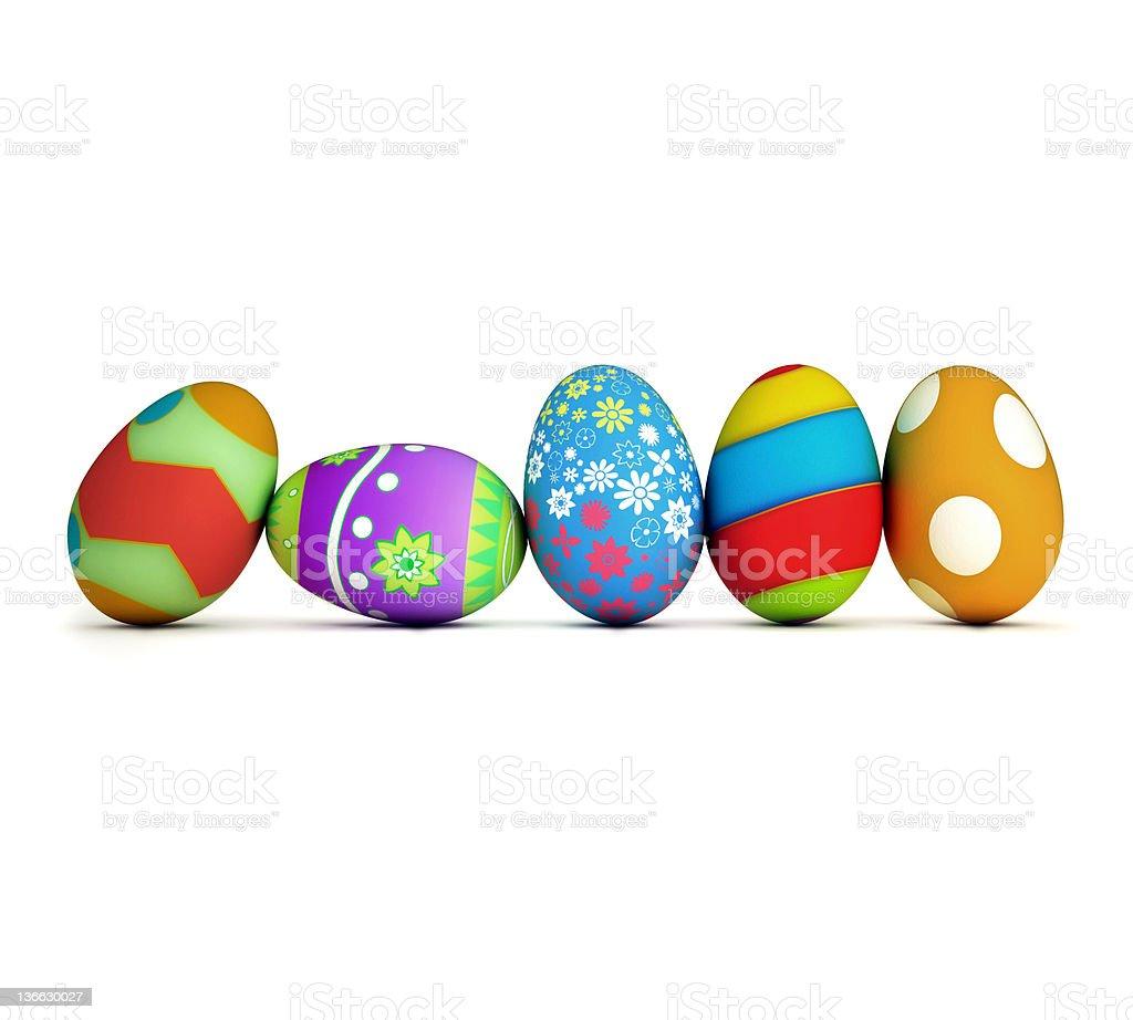 Easter Eggs XXL royalty-free stock photo