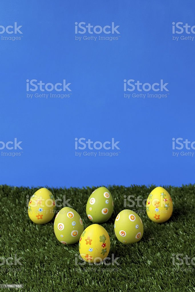 Easter field royalty-free stock photo