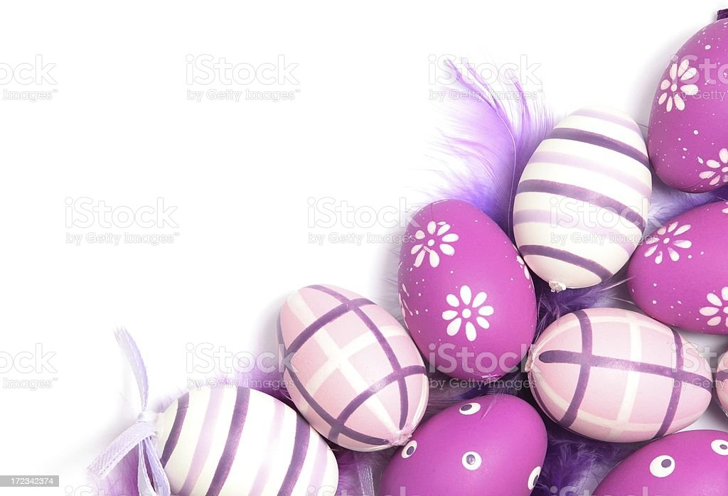 Easter frame royalty-free stock photo