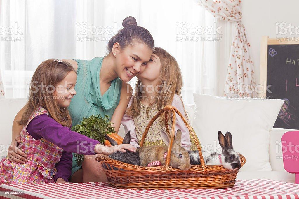 Easter fun royalty-free stock photo