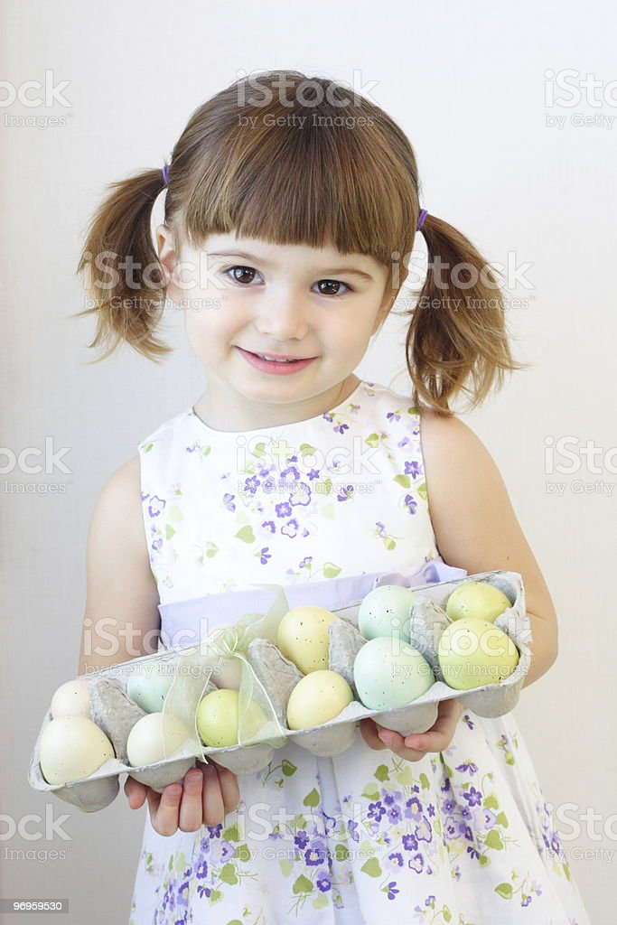 Easter Girl royalty-free stock photo