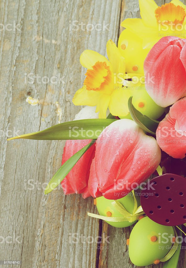 Easter Greeting Concept stock photo