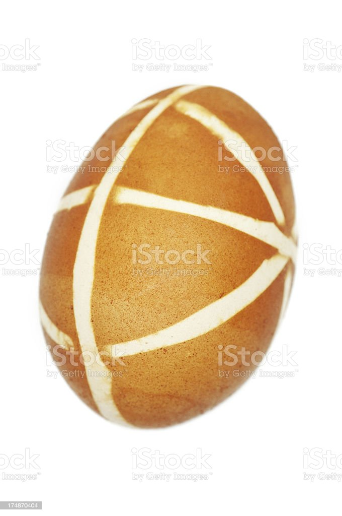 Easter Hand Painted Egg royalty-free stock photo