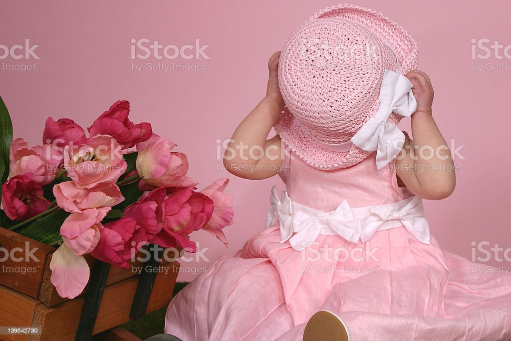 Easter Hat royalty-free stock photo