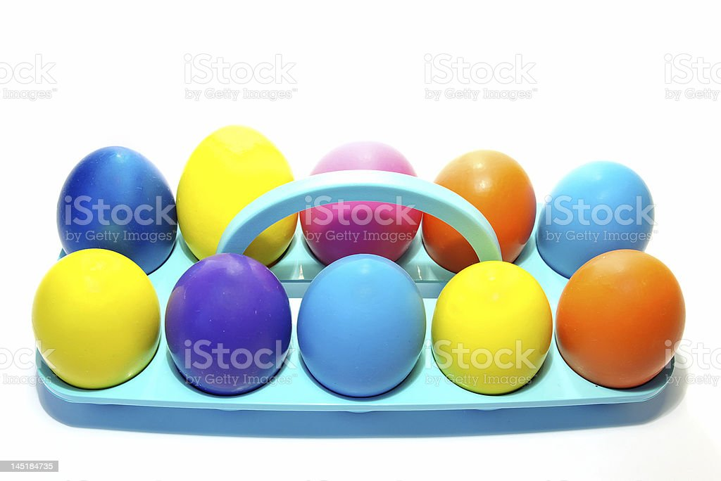 Easter holiday eggs royalty-free stock photo
