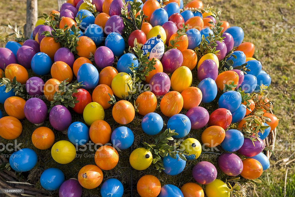 Easter in Bavaria, Germany stock photo