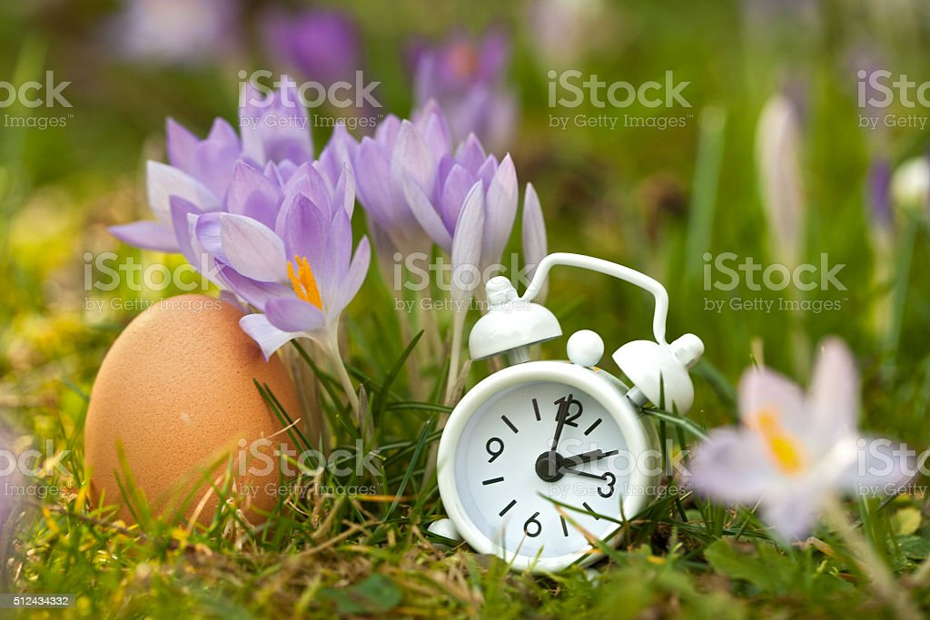 Easter is spring time stock photo