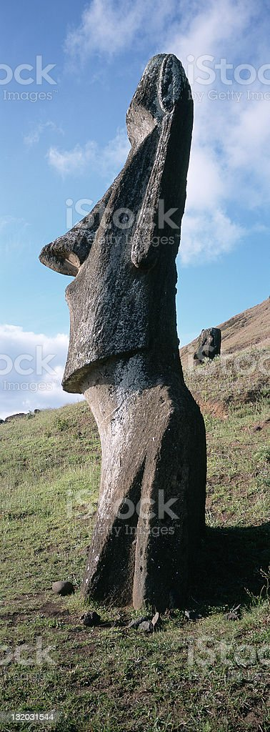 Easter Island royalty-free stock photo