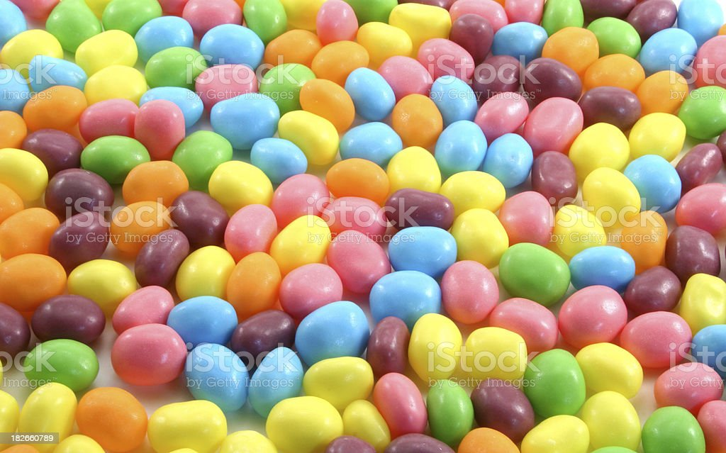 Easter Jelly Beans royalty-free stock photo