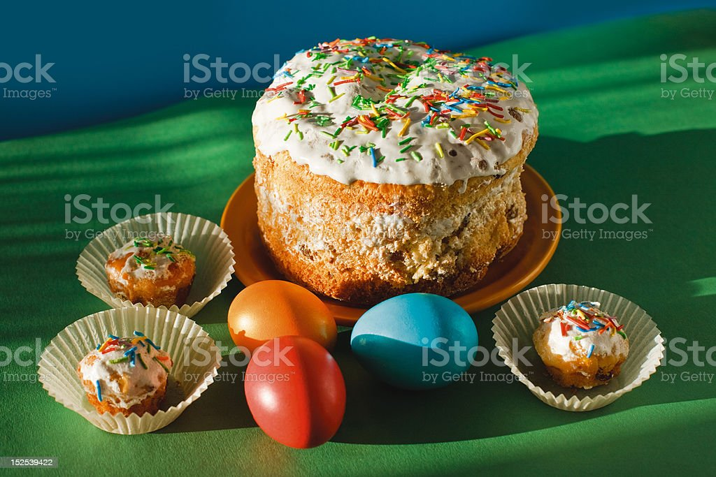Easter light royalty-free stock photo