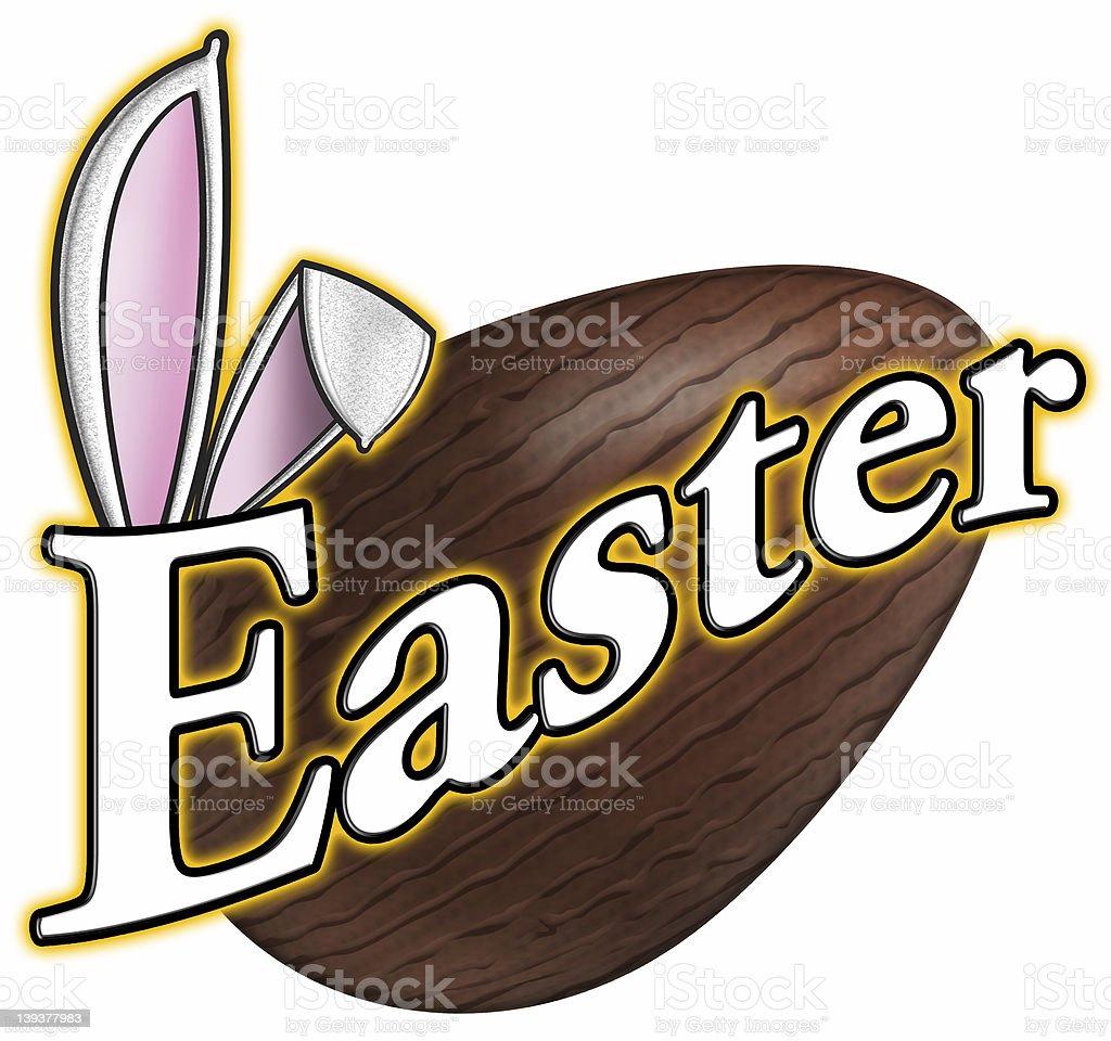 logo de Pâques photo libre de droits