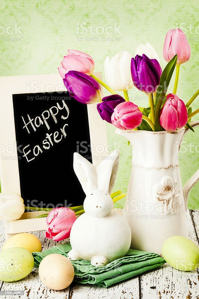 Easter Message royalty-free stock photo