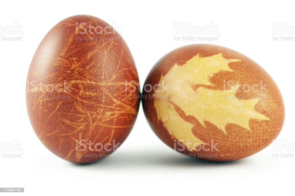 Easter Painted Eggs royalty-free stock photo