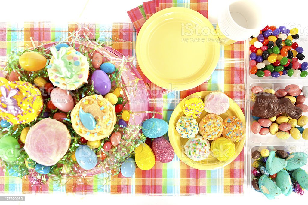 Easter Party stock photo
