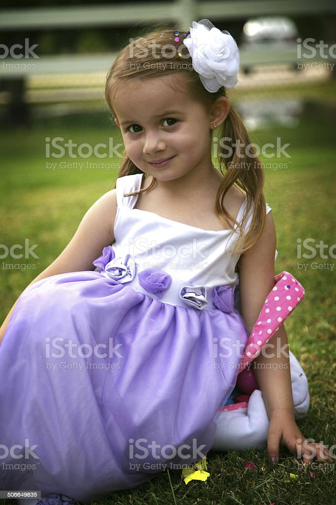 Easter Photo Shoot Series royalty-free stock photo