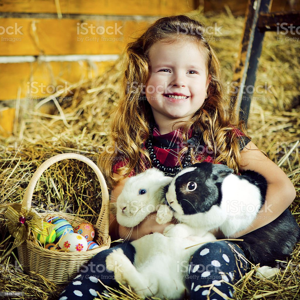 Easter stock photo