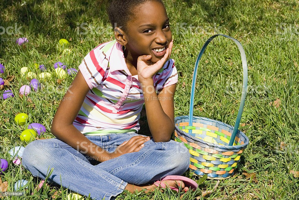 easter portrait royalty-free stock photo