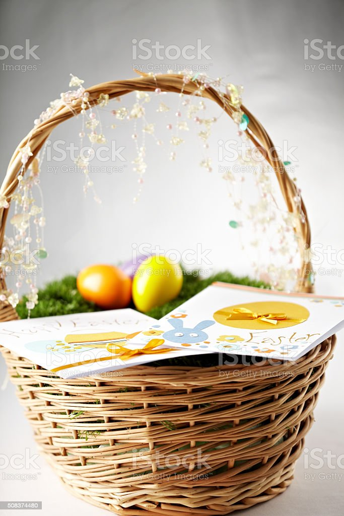 Easter presents stock photo