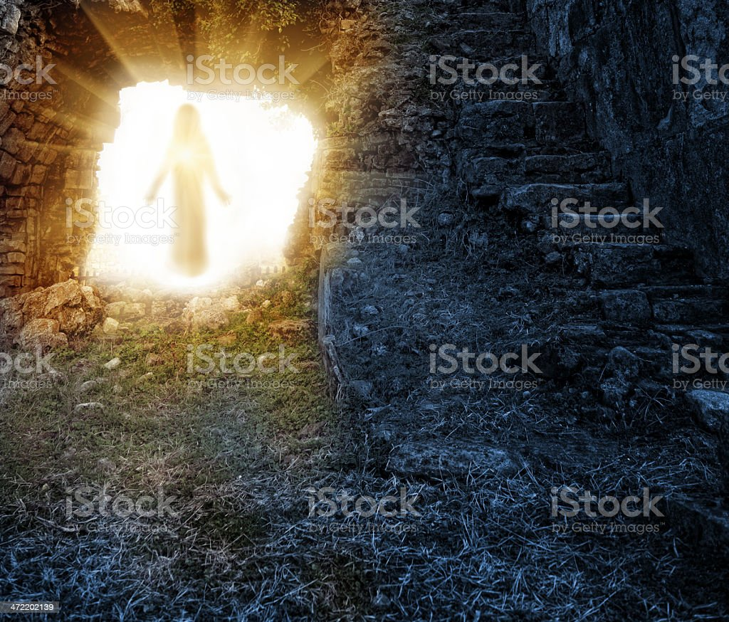 Easter. Resurrection stock photo
