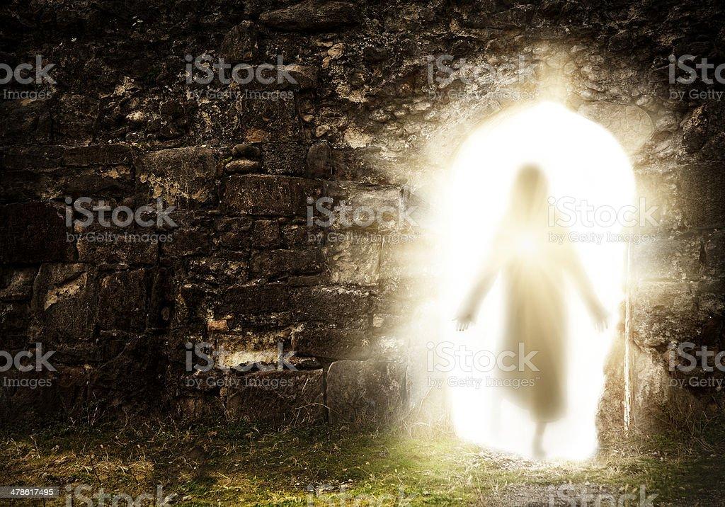 Easter. Resurrection stock photo