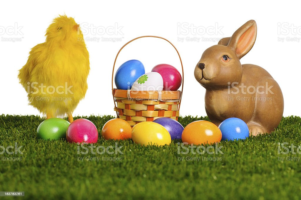 Easter scene royalty-free stock photo