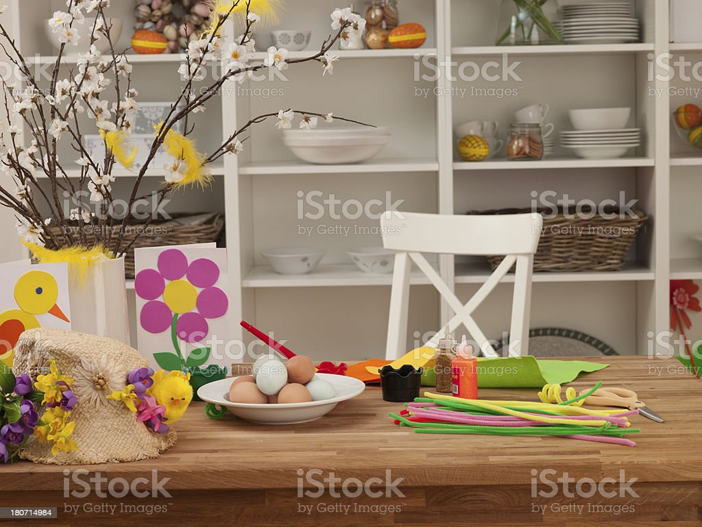 Easter Set royalty-free stock photo