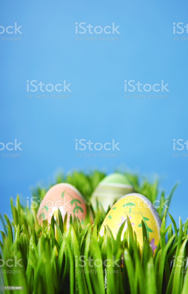 Easter Setup royalty-free stock photo